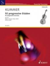 Kummer F.a. - 92 Progressive Exercises Vol.2 - Violoncelle