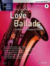 Juchem Dirko - Love Ballads - Alto Saxophone And Piano + Online Audio