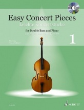 Easy Concert Pieces Vol.1 - Contrebasse and Piano