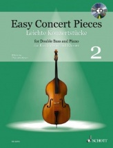 Easy Concert Pieces Vol.2 - Contrebasse and Piano