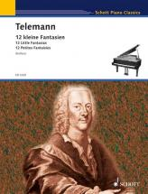 Telemann Georg Philipp - 12 Little Fantasias - Piano