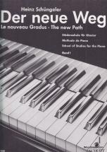Schüngeler Heinz - The New Path  Band 1 - Piano
