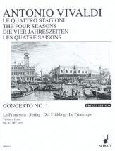 Vivaldi Antonio - The Four Seasons Op. 8/1 Rv 269 / Pv 241 - Violin, Strings And Basso Continuo