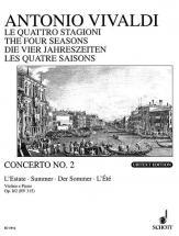 Vivaldi Antonio - The Four Seasons Op 8/2 Rv 315 / Pv 336 - Violin, Strings And Basso Continuo