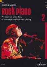 Moser Jurgen - Rock Piano Band 2 - Keyboard Or Piano