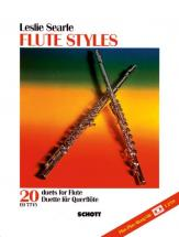 Searle Leslie - Flute Styles + Cd - 2 Flutes