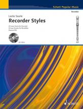 Searle Leslie - Recorder Styles + Cd - Soprano- And Treble Recorder