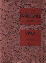 Orchester-probespiel - Viola