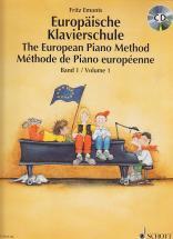 Emonts Fritz - Methode De Piano Europeenne + Cd