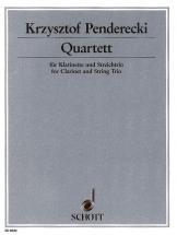 Penderecki Krzysztof - Quartet - Clarinet And String Trio