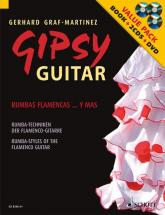 Graf-martinez Gerhard - Gipsy Guitar + Cd + Dvd - Guitar
