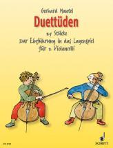 Mantel Gerhard  - Duetudes - 2 Cellos