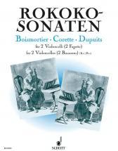 Rococo Sonatas - 2 Cellos