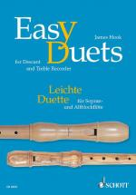 Hooks James - Easy Duets - Soprano- And Treble Recorder