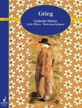 Grieg Edvard - Lyric Pieces Op. 12, 38, 43 - Piano