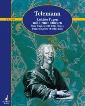 Telemann Georg Philipp - Fugues Legeres Et Petits Jeux