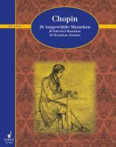 Chopin F - 20 Selected Mazurkas - Piano
