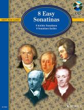 Eight Easy Sonatinas + Cd - Piano