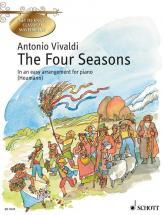 Vivaldi Antonio - The Four Seasons Op. 8/1-4 - Piano