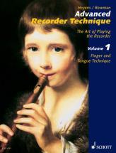 Heyens Gudrun - Advanced Recorder Technique Vol. 1 - Treble Recorder