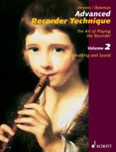 Heyens Gudrun - Advanced Recorder Technique  Vol. 2 - Treble Recorder