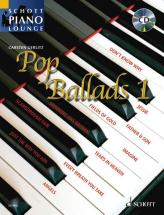 Pop Ballads   Band 1 + Cd - Piano