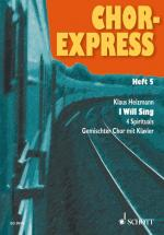 Chor-express   Heft 5 - Mixed Choir  And Piano