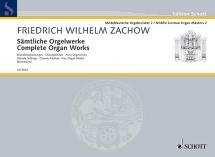 Zachow Friedrich Wilhelm - Complete Organ Works - Organ