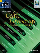 Celtic Lovesongs + Cd - Piano