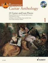 Anthologie De La Guitare Baroque Vol.1 + Cd