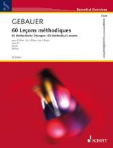 Gebauer F. R.- 60 Methodical Lessons Op. 31- Flute