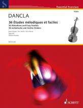 Dancla C. - 36 Melodious And Easy Studies Op. 84 - Violon