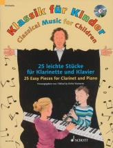 Classical Music For Children + Cd - Clarinette, Piano