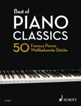 Heumann H.-g. - Best Of Piano Classics, 50 Famous Pieces - Piano