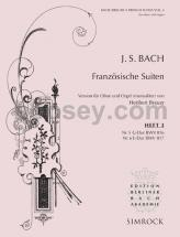Bach J.s. - French Suites Vol.3 - Oboe And Organ