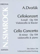 Dvorak Anton - Concerto In B Minor Op.104 - Cello And Piano