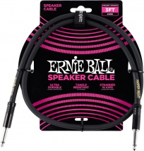 Ernie Ball Cables Haut-parleur Classic Jack/jack 91cm Noir