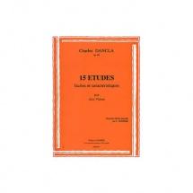 Dancla Charles - Etudes Faciles (15) Op.68 - 2 Violons