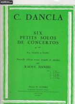 Dancla Charles - Solo Op.141 N°1 Des 6 Petits Solos De Concerto