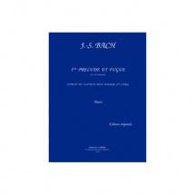 Bach Johann Sebastian - Prelude Et Fugue N.1 En Ut Maj. - Piano
