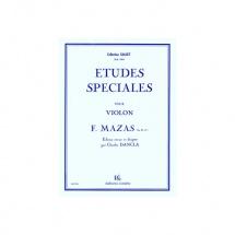 Mazas Jacques-fereol - Etudes Speciales Op.36 N.1 - Violon