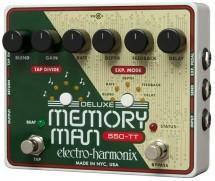 Electro Harmonix Deluxe Memory Man Tap Tempo 550