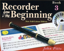 Pitts John - Recorder From The Beginning - Pupils Book Bk. 3 - Descant Recorder