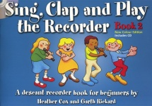 Sing Clap And Play The Recorder Book 2 - Recorder