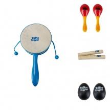 instrument pour percussions tambour de fanfare jaune 17 cm jouets instruments musicaux. Black Bedroom Furniture Sets. Home Design Ideas