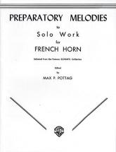 Preparatory Melody To Solo - French Horn