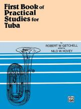 Getchell Robert - Practical Studies For Tuba Book 1 - Tuba