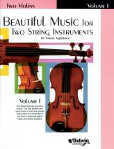 Applebaum Samuel - Beautiful Music For 2 String Instruments Book1 - Violin