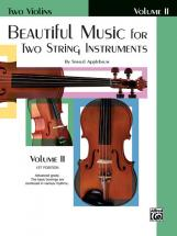 Applebaum Samuel - Beautiful Music For 2 String Instruments Book2 - Violin