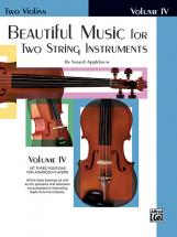 Applebaum Samuel - Beautiful Music For 2 String Instruments Book4 - Violin